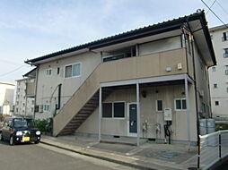 福島県福島市宮代字田尻の賃貸アパートの外観