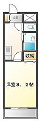 UMEX−7(ユメックス)[5階]の間取り