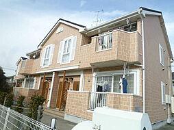 静岡県磐田市池田の賃貸アパートの外観