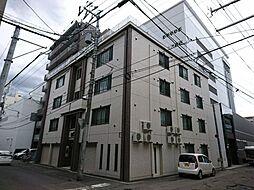 北海道札幌市中央区南六条西10丁目の賃貸マンションの外観
