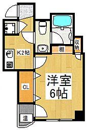 第五みずほ館[2階]の間取り