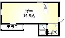 BROOK HOUSE[4階]の間取り