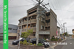 福岡県福岡市早良区小田部2丁目の賃貸マンションの外観
