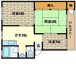 石屋川駅 5.8万円