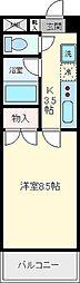 マンションいとう仙[208号室]の間取り