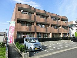 愛知県北名古屋市鹿田南蒲屋敷の賃貸マンションの外観