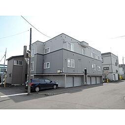 北海道札幌市東区北45条東2丁目の賃貸アパートの外観