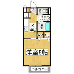 サープラスIアルプ[1階]の間取り