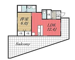 JR東金線 東金駅 徒歩22分の賃貸アパート 1階1LDKの間取り