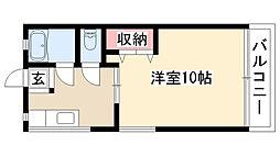愛知県名古屋市瑞穂区汐路町5丁目の賃貸マンションの間取り