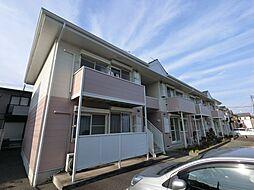 千葉県佐倉市表町4丁目の賃貸アパートの外観