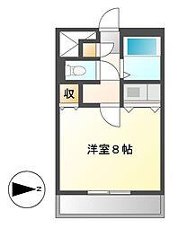 桜マンションⅡ[2階]の間取り