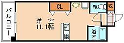 BBS古賀駅前マンション[7階]の間取り