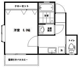 エステート町屋II[2階]の間取り