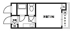 エクト1[4階]の間取り