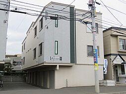 北海道札幌市東区北十二条東12丁目の賃貸アパートの外観