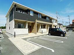 兵庫県加古川市野口町坂井の賃貸アパートの外観