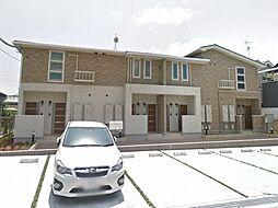 大阪府松原市一津屋4丁目の賃貸アパートの外観