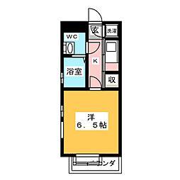 エステート・モア・高宮CINQ[1階]の間取り