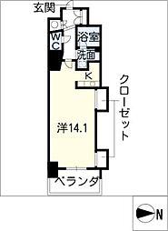 エルブ葵[11階]の間取り