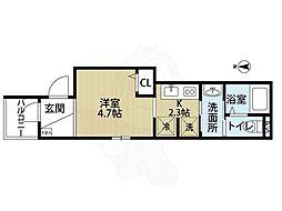 初芝駅 4.2万円