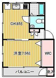 チサンマンション中延[2階]の間取り