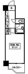 東京都新宿区西新宿5丁目の賃貸マンションの間取り