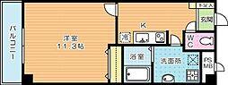 ギャラン貴船[2階]の間取り