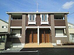 神奈川県綾瀬市深谷の賃貸アパートの外観