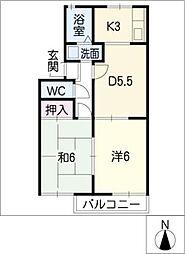 Y'S HOUSE[1階]の間取り