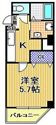 (仮称)此花区梅香新築マンション[2階]の間取り