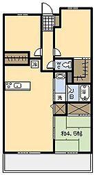 サーパス柳丸イーストガーデン[66号室]の間取り