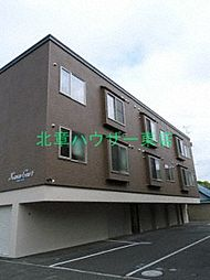 北海道札幌市東区北四十八条東4丁目の賃貸アパートの外観