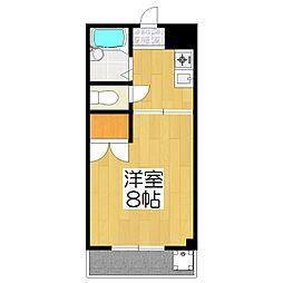 RAKUHOKUSO[305号室]の間取り