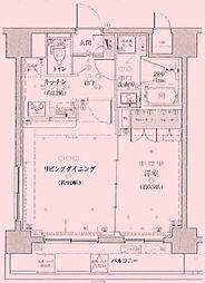 東京都足立区梅田7丁目の賃貸マンションの間取り