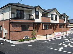 鹿児島県姶良市永池町の賃貸アパートの外観