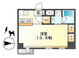 KDXレジデンス東桜I[7階]の間取り