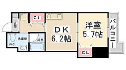 エクサス21[1階]の間取り