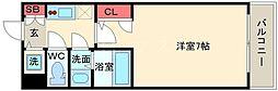 エスレジデンス大阪九条North(ノース) 8階1Kの間取り