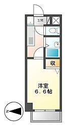 KATE'S HOUSE[3階]の間取り