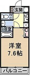 仮称)御陵別所学生マンション[201号室号室]の間取り