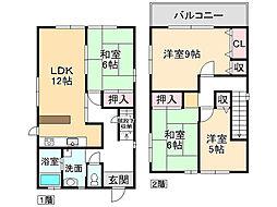 押部谷駅 580万円