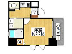 サムティ本町AGE[10階]の間取り