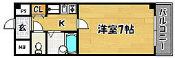大阪府大阪市東淀川区菅原2丁目の賃貸マンションの間取り