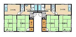 ガーデンコーポ[2階]の間取り