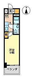 E-FLAT SECOND[405号室号室]の間取り