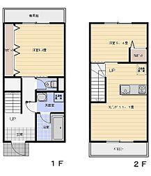プレジール青山[1階]の間取り