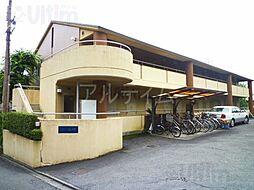 京都府京都市東山区今熊野阿弥陀ケ峯町の賃貸マンションの外観