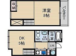 オークグランド[2階]の間取り