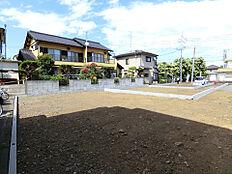 土地面積はゆとりの約61坪です。